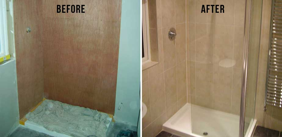 Shower - Before and After